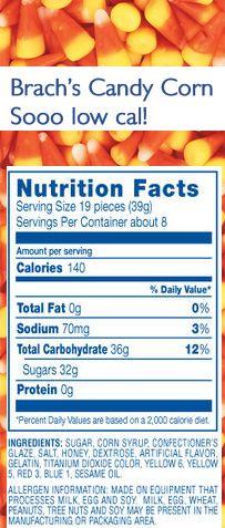 Brach S Chocolate Stars Nutrition Facts