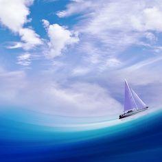Art Ship Wave Design