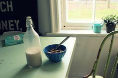 Make your own nut milk!