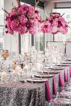 Wedding centerpieces are one of the key positions of the wedding decor. The most impressive, of course, are the floral wedding centerpieces. Silver Wedding Decorations, Wedding Table Centerpieces, Flower Centerpieces, Wedding Themes, Wedding Colors, Centerpiece Ideas, Wedding Dresses, Star Wedding, Floral Wedding