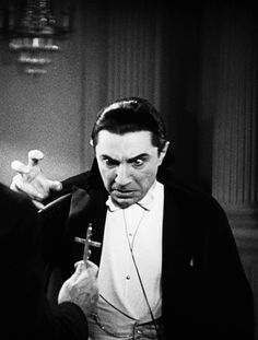 """""""More effective than Wolfbane"""" Dracula Bela Lugosi. Lugosi Dracula, The Frankenstein, Gothic, Horror Monsters, Vampires And Werewolves, Horror Icons, Famous Monsters, Classic Horror Movies, Creatures Of The Night"""