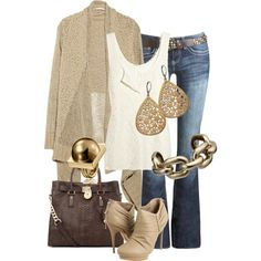 perfect outfit for today , wish I had it all.
