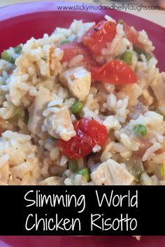 Slimming World Chicken risotto