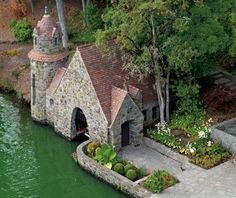lake oswego private island house