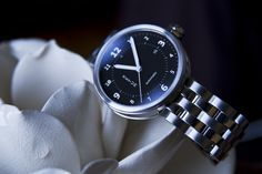 Xetum men's watch: Stinson, black dial, stainless steel bracelet