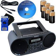 HeroFiber Sony Bluetooth Boombox Bluetooth Amp, Wireless Headphones Review, Waterproof Headphones, Running Headphones, Stereo Speakers, Wireless Speakers, Video Cd, Audio System, Boombox