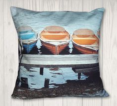 Nautical Boat Pillow Cover - Coastal Decor - x Pillow Inserts, Pillow Covers, Dragon Tales, Nautical Pillows, Joann Fabrics, Coastal Decor, Hello Everyone, Craft Stores, Needlepoint