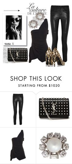 """""""New Year's Eve Glam!"""" by hattie4palmerstone ❤ liked on Polyvore featuring By Zoé, Isabel Marant, Yves Saint Laurent, J.W. Anderson, Diane Von Furstenberg, saintlaurent, isabelmarant, dianevonfurstenburg, jwanderson and acsilver"""