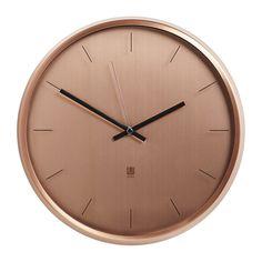 Discover the Umbra Meta Wall Clock - Copper at Amara