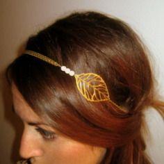 bijou de t te dor papillon lastique accessoires coiffure par un air de filles bijoux de. Black Bedroom Furniture Sets. Home Design Ideas