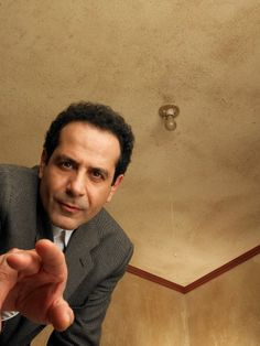 Adrian Monk, the protagonist of the USA Network television series Monk, portrayed by Tony Shalhoub
