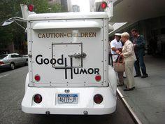 Vintage Good Humor Truck: logo and font