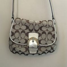 Coach over the shoulder bag Used. Small over the shoulder coach bag. Coach Bags Crossbody Bags