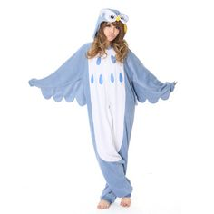 Thought this costume was cute...Perhaps I could find a pattern & make my own version? Owl Kigurumi now featured on Fab.