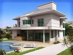Fachadas de casas de sobrados - veja 50 modelos lindos!