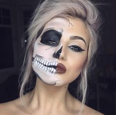 HALLOWEEN - 5 MAKE UP TO USE | 5 MAQUILHAGENS A USAR