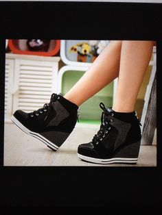 Please help me find these high heeled sneakers