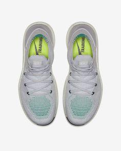 3cf0e77536f Nike Free Tr Flyknit 3 Amp Women s Training Shoe - 5 Platinum