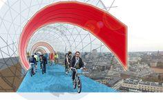 skycycle!イイネ。    3年後、ロンドンに空中自転車レーンが登場!? « WIRED.jp