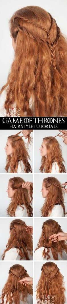 Cersei Lannister Rope Braids