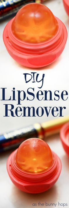 Take an empty lip balm container and a glycerin facial bar and turn them into the perfect LipSense remover! Get the details on this easy DIY at As The Bunny Hops! Makeup Tricks, Makeup Tools, Makeup Brushes, Makeup Ideas, Nice Makeup, Makeup 101, Makeup Style, Drugstore Makeup, Makeup Tutorials