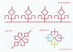 Kasuti Embroidery Tutorial: Free Online Kasuti Embroidery Tutorial - Assignmen...