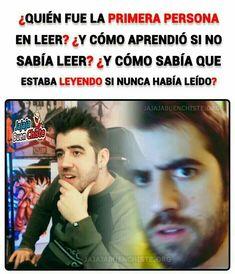 Funny Spanish Memes, Spanish Humor, Stupid Funny Memes, Funny Posts, Hilarious, New Memes, Dankest Memes, Jokes, Book Memes