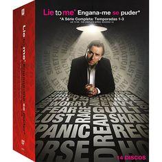 Americanas DVD - Box - Lie to Me Engana-me se Puder A Série Completa Temporadas 1-3 (14 discos) - R$53,90