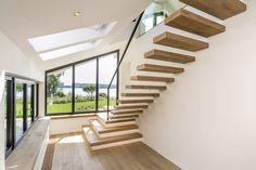 faltwerk von der treppe abgeh ngt design stairs pinterest treppe. Black Bedroom Furniture Sets. Home Design Ideas