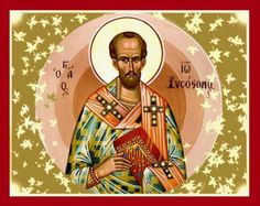Memorial of Saint John Chrysostom, Bishop and Doctor of the Church It is far easier to subdue and conquer an angry person by silence and yielding, than by answering. Angry Person, John Chrysostom, Church Interior, Catholic Saints, Orthodox Icons, Winter Activities, Jesus Christ, Pray, Religion