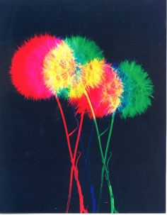 Dandelions and the additive color model.