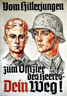 """""""Vom Hitlerjungen zum Offizier des Heeres - Dein Weg!"""""""