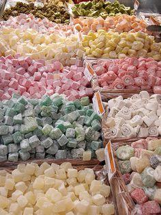 トルコのお菓子 ロクムがいっぱい!