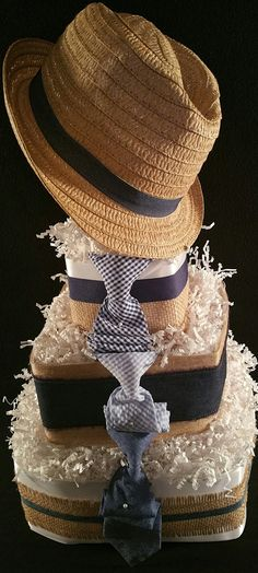 3 Tier Towel Cake-Classic Gent by TiersofJoybyUs on Etsy
