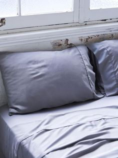 Home + Bedroom Decor // ideas // Bamboo Charcoal Fitted Sheet - Dove Grey Home Bedroom, Bedroom Decor, Bedroom Ideas, Flat Sheets, Room Colors, Dove Grey, Duvet Covers, Bed Pillows, Pillow Cases