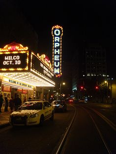 Orpheum Memphis. I watched my first touring musical here, and it was the first huge venue I ever performed in.