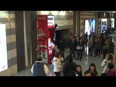 Coca-Cola hidden Cam Vending Machine@ Korea, not a social media campaign but a good marketing campaign.