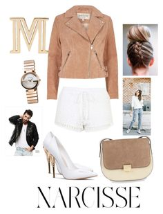 """""""Untitled #123"""" by khayaehop ❤ liked on Polyvore featuring River Island, Witchery, Gucci and Topshop"""