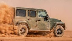 Jeep Wrangler 75th Anniversary Edition is Put to the Test