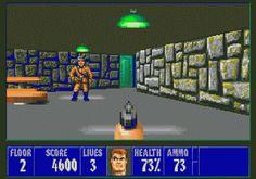 Wolfenstein, antesignano di Doom, è stato uno dei primi videogiochi sparatutto in prima persona. Si svolge in una città nazista.