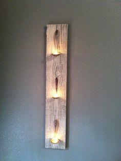 Spoon tea light holder by HomeSweetHomeDecor on Etsy, $19.99