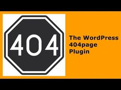 404page - your smart custom 404 error page — WordPress Plugins