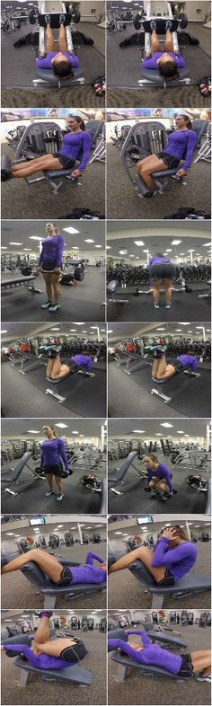 10 Weeks to Fit - Day 1: Legs & Abs - This chick has amazing work outs a great plan to follow! :)