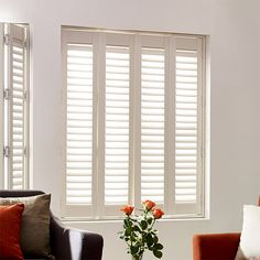 San Jose Pure White Shutter Blinds from Blinds 2go