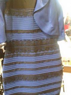 THE DRESS IS FREAKIN BLACK & BLUE CAITLIN!!!!!!!!!!!!!