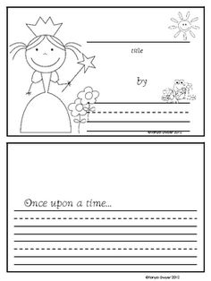 Free fairy tale writing so cute...has word banks and paper for fairy tale and Star Wars! Maybe for work on writing?
