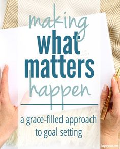 A series on setting realistic goals & getting focused on what really matters! Life Organization, Organizing, Home Management Binder, Christian Resources, Goal Planning, Life Goals, Lara Casey, Homemaking, Verses