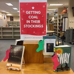 Library Displays: Naughty Antiheroes!