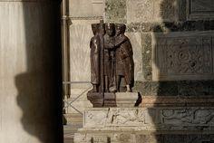 Venezia, esterno della Basilica di San Marco : i Tetrarchi