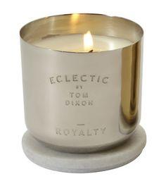 Bougie parfumée Scent Royalty Royalty / Argent - Tom Dixon - Décoration et mobilier design avec Made in Design